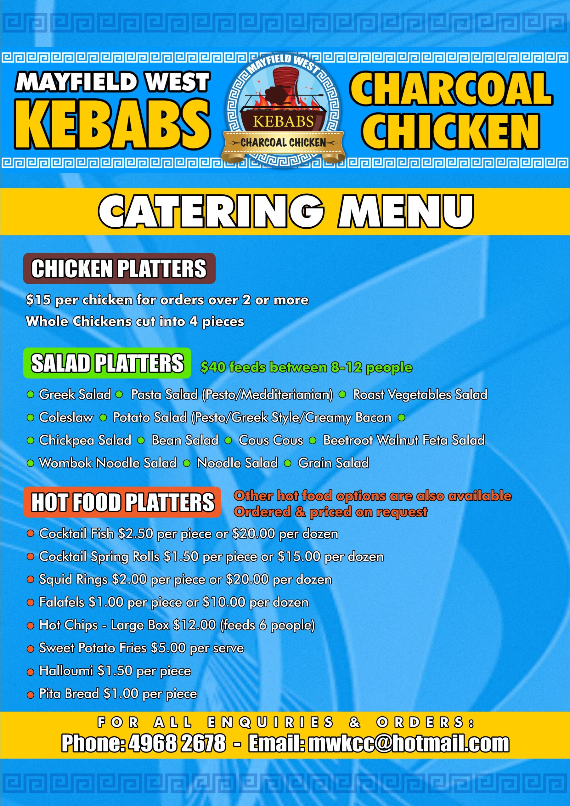 Catering A4 Oct21
